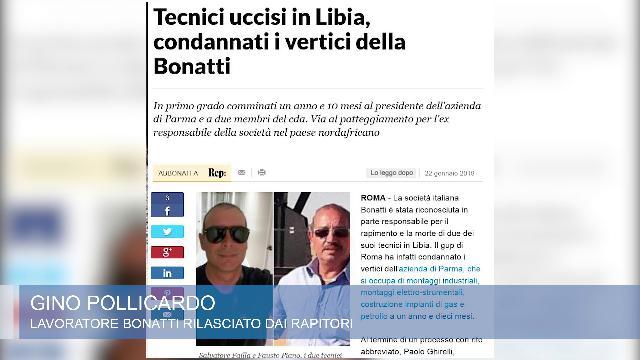 Tecnici italiani uccisi in Libia, il sopravvissuto:
