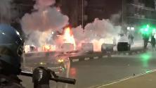 Sgombero Asilo a Torino, scontri tra centri sociali e polizia: è guerriglia urbana in città