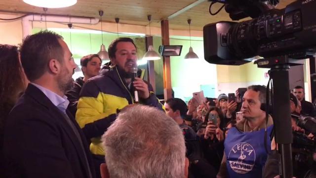 """Salvini ad Alghero: """"Domenica ci sono solo due scelte non 32: la sinistra o la Lega"""""""