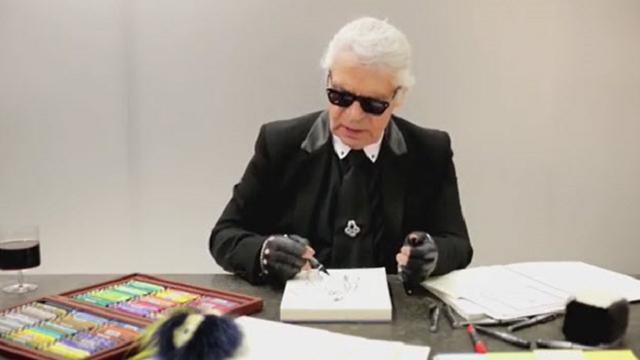 """54 anni insieme"", Fendi ricorda il ""suo"" Karl Lagerfeld"