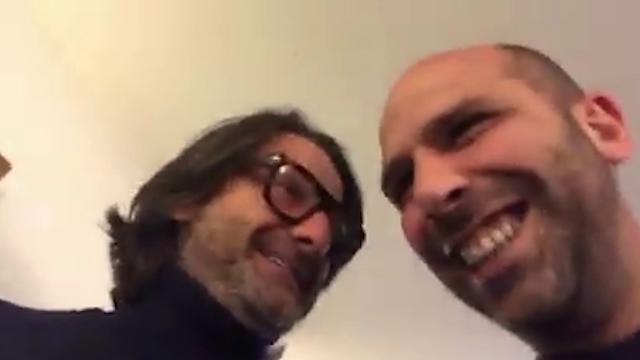 Il siparietto di Checco Zalone con Caiata, eccentrico presidente del Potenza calcio