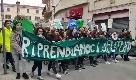 Sassari, migliaia di ragazzi sfilano in difesa dell'ambiente