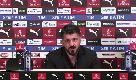 "Milan-Inter, lite tra Kessie e Biglia. Gattuso: ""Se avessi visto mi sarei buttato nella mischia"""