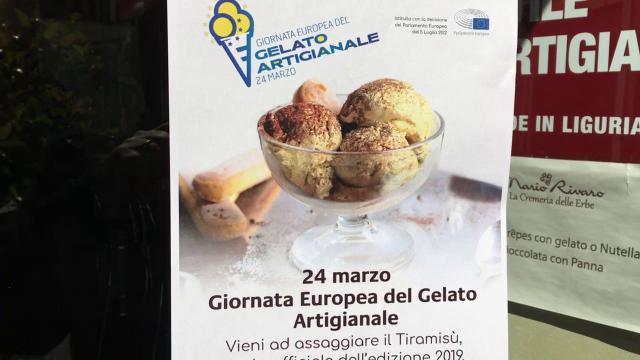 Per la Giornata europea del gelato il tiramisù alla ligure