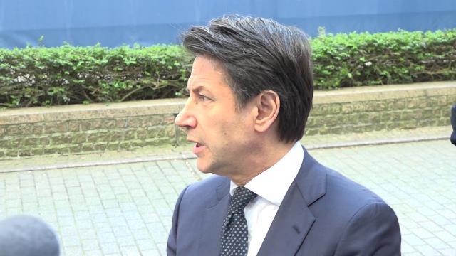 """Cina, Conte da Bruxelles: ''Contro-vertice di Macron senza Italia? È solo una cortesia verso Merkel"""""""