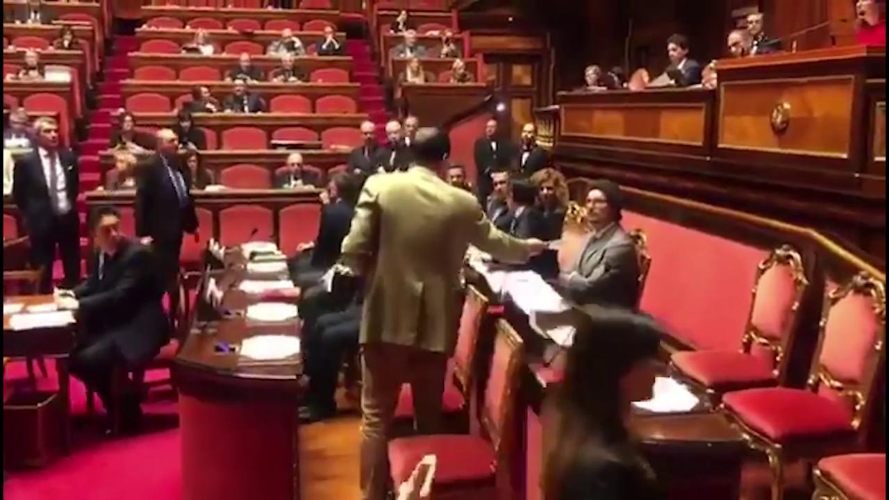 senatori pd consegnano elenco opere incompiute a toninelli