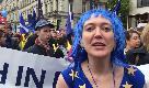 """Londra, gli italiani al corteo contro la Brexit: """"Dopo due anni, è ora che prevalga il buonsenso"""""""