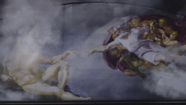 'Giudizio universale', lo show su Michelangelo e la Cappella Sistina