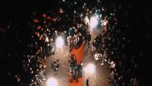 Nozze trash a Napoli, il concerto al Plebiscito era il set per il nuovo videoclip di Tony Colombo