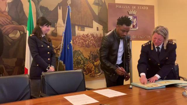 Padova, rilasciati due permessi di soggiorno per valore in ...