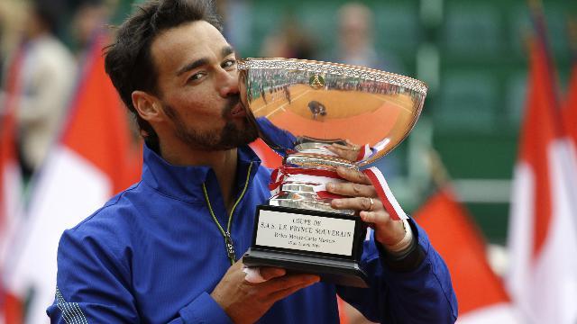 Tennis, Fabio Fognini vince il torneo di Montecarlo: il match point della partita