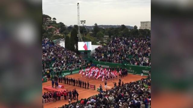 Tennis, Fabio Fognini trionfa a Montecarlo: nello stadio risuona l'Inno nazionale