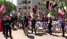 """25 aprile, """"Mai più antifascismo"""": il sit-in di Forza Nuova a Roma"""