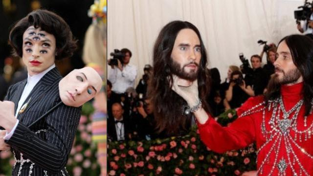 Met Gala 2019, performance teatrali sul red carpet fra teste decapitate, dentiere e abiti-lampadari