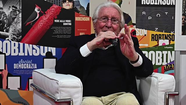 """Salone del libro, Bernardo Valli: """"L'Europa alle urne sola, fragile e frantumata"""""""