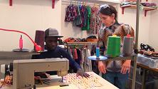Coloriage, un atelier sociale che unisce la moda ai colori dell'Africa