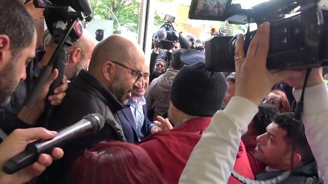 Casal Bruciato, il partigiano Macrì incontra Zingaretti: