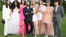 Giambattista Valli svela la nuova collezione per H&M: a Cannes con Kendall Jenner e Chiara Ferragni
