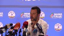 """Europee, Salvini su Lega dietro a Pd: """"Milano cresce, ma dobbiamo migliorare"""""""
