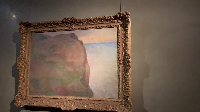 Quadro di Monet sequestrato a Tanzi esposto al museo.
