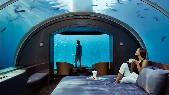 """Maldive: nasce la prima, paradisiaca """"villa sottomarina"""" al mondo"""