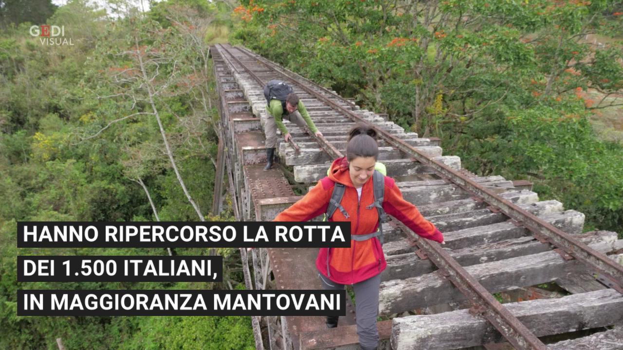 Trovare Lavoro In Costa Rica in costa rica sulle rotaie dei tùtiles: lorenzo e rossella a piedi lungo la  ferrovia dei mantovani
