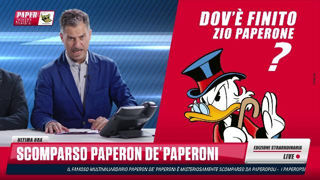 Zio Paperone scomparso, l'annuncio choc del Trio Medusa