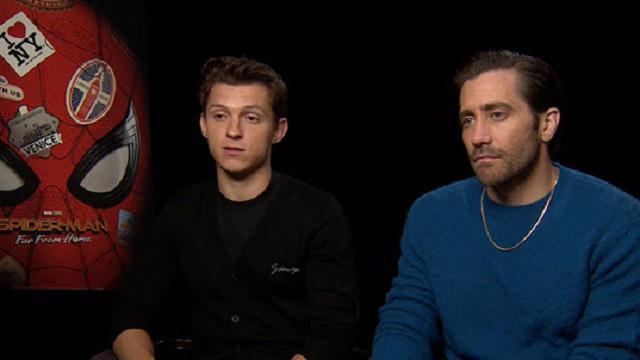 Un veterano e una new entry: Tom Holland e Jake Gyllenhaal, supereroi a confronto