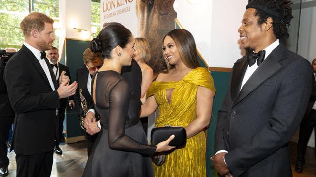 """""""Trova sempre il tempo per te"""", il consiglio genitoriale di Beyoncé a Meghan Markle tra abbracci e sorrisi"""