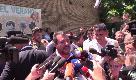 """Elezione Von der Leyen, Salvini: """"Al governo con voti Renzi, Berlusconi e Di Maio. Un minestrone"""""""