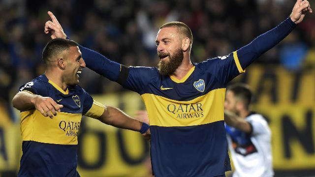 De Rossi, primo gol dell'ex romanista all'esordio: ma il Boca perde contro l'Almagro