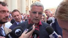 """Funerale Nadia Toffa, l'amico Enrico Lucci: """"Era vera e lottava contro le ingiustizie"""""""