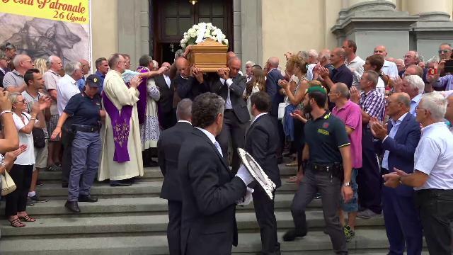 Bergamo, l'ultimo saluto a Gimondi: