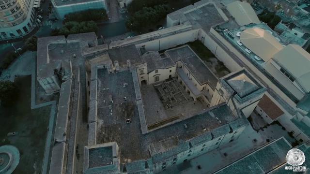 Lecce, immagini e suoni dal castello Carlo V: la Storia dà spettacolo