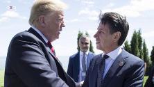 """Trump chiama l'ex premier 'Giuseppi', la risposta dei social: """"Conte bis o discontinuità sul nome""""?"""