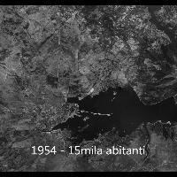 Ecco com'è cresciuta Olbia in 80 anni, dal 1940 a oggi in un minuto