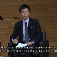 """Inter, la confessione del presidente Zhang: """"Prima dei nerazzurri non avevo mai visto una partita di calcio"""""""