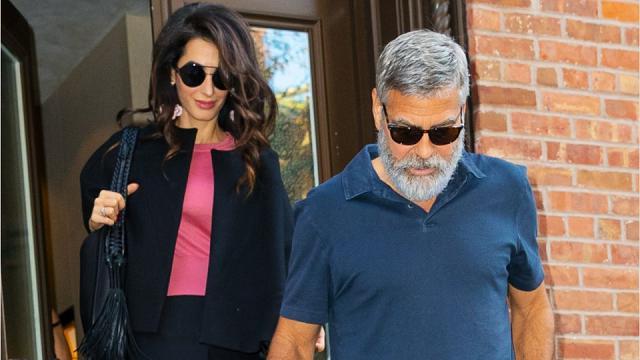 Una giornata nella vita di George e Amal Clooney, tra i flash impazziti dei fotografi