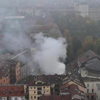 """Incendio Cavallerizza Reale di Torino, Appendino: """"Vederla ridotta così fa male"""""""