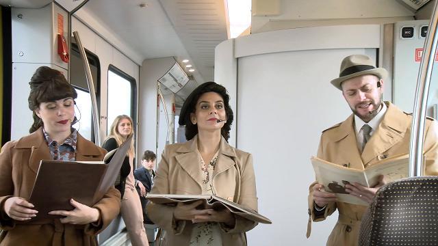 Bari, Shakespeare va in scena in treno: