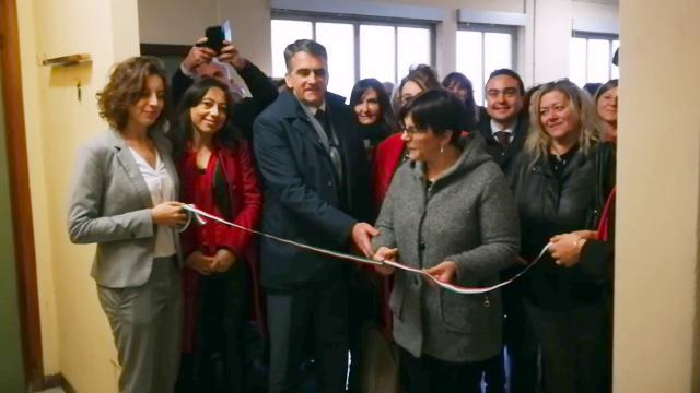 Voghera, inaugurato lo sportello antiviolenza - La Provincia Pavese