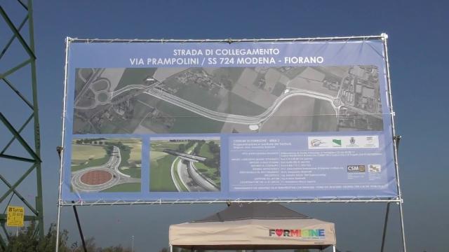 Formigine, cantiere per la strada di collegamento tra Modena e Fiorano - Gazzetta di Modena
