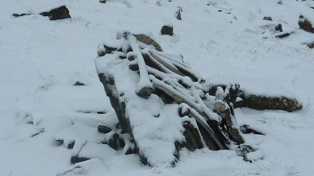 Sulle nevi dell'Himalaya il misterioso, macabro lago degli scheletri