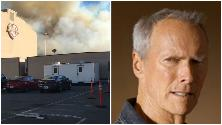 Incendio a Hollywood, studios evacuati: Clint Eastwood resta per finire il film