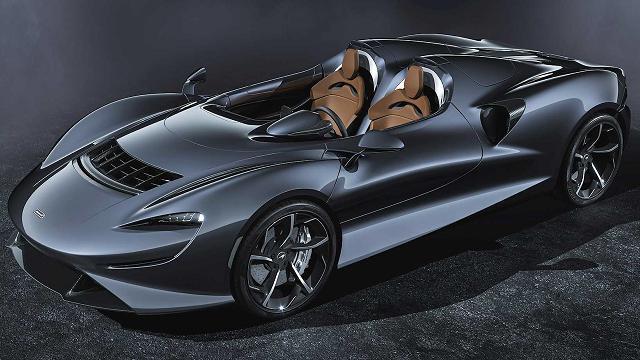 McLaren presenta la supercar che non ha parabrezza, tetto e finestrini
