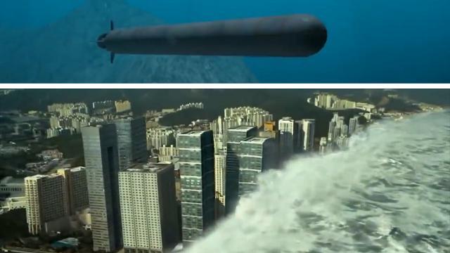 """Poseidon, il missile segreto russo che toglie il sonno al Pentagono: """"Può produrre uno tsunami e danni inaccettabili"""""""