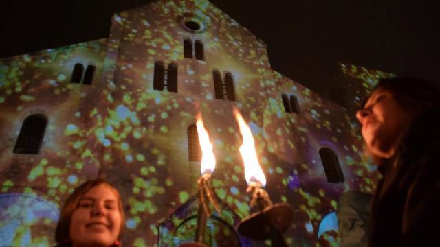A Bari vecchia San Nicola porta già l'aria del Natale