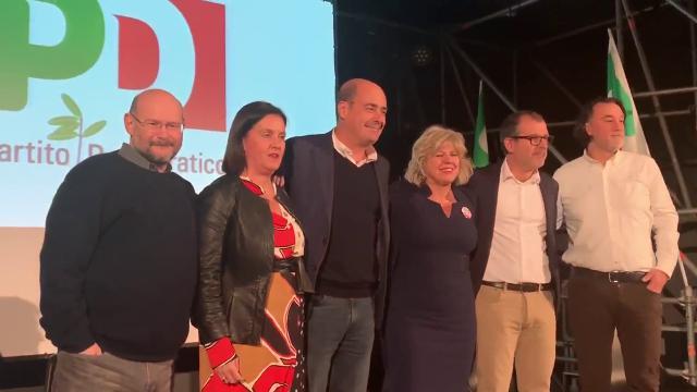 Regionali, Zingaretti a Parma: