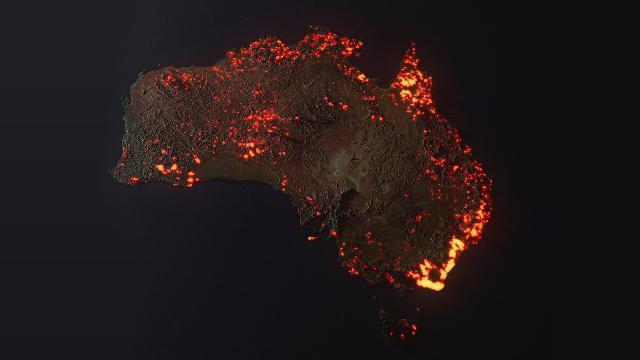 Australia in fiamme, perché questa foto è falsa: ecco come appare realmente dal satellite
