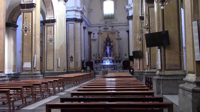 Palermo, alla scoperta della Chiesa di San Nicolò da Tolentino.